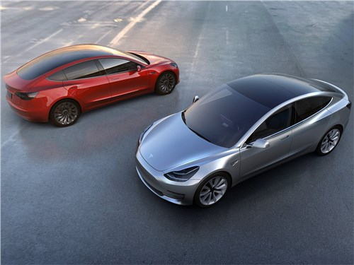 Электродвигателя Tesla Model 3