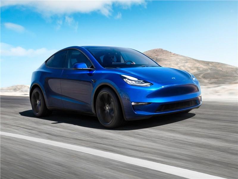 Мощность двигателей Tesla Model Y