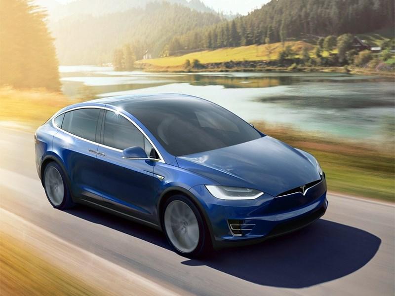 Мощность электромотора Tesla Model X