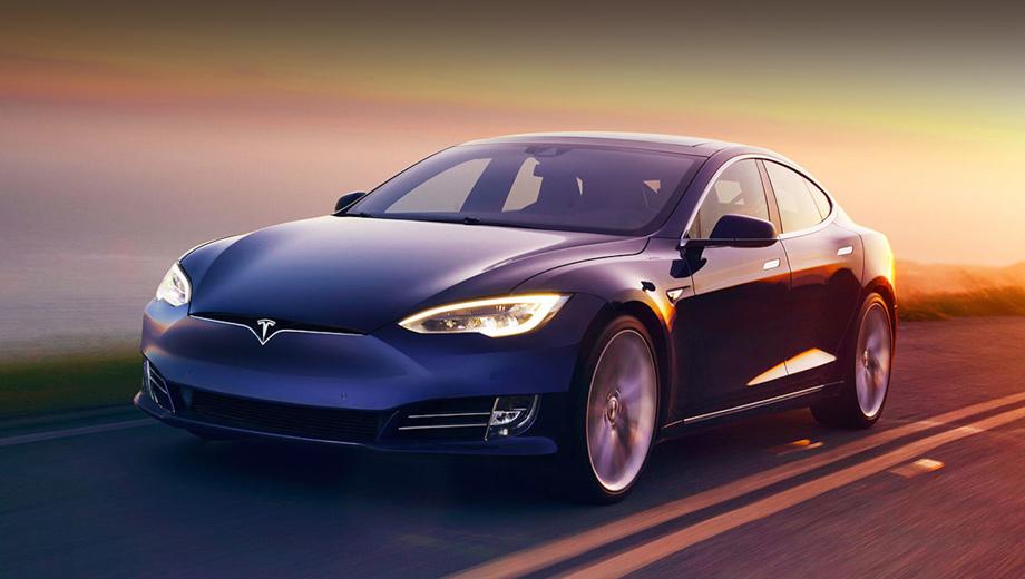 Мощности двигателя Tesla Model S