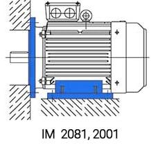 IM2081 двигатель 90 кВт 750 об/мин комбинированный