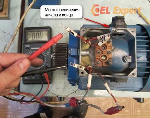 Прозваниваем электродвигатель мультиметром